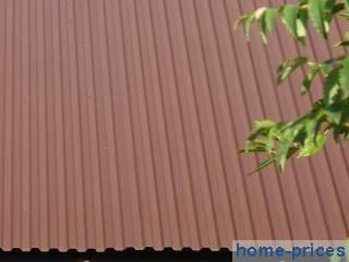 крыша из профилированной стали