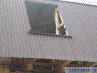 крыша из профилированного металлопроката