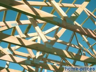 деревянное перекрытие