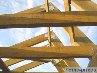 перекрытие по деревянным лагам