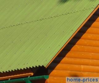 битумношиферная крыша