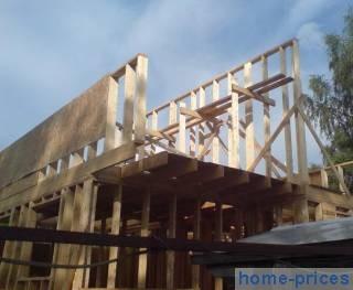 каркасно-щитовая стеновая конструкция