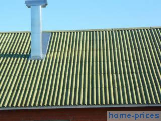 асбестоцементно-шиферная крыша