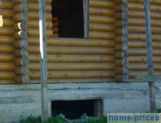 брусово-деревянный дом