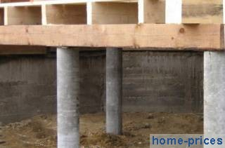 балочно-деревянное перекрытие